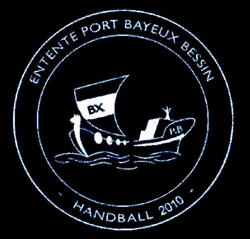 Logo Entente Handball Port en bessin Bayeux